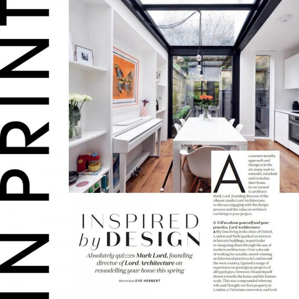 ABSOLUTELY MAGAZINE FEATURE: 'Inspired By Design'